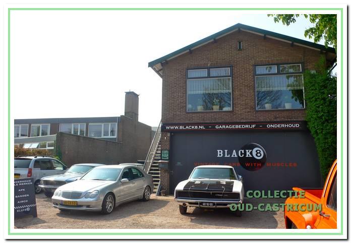 De huidige situatie: het garagebedrijf 'Black 8' aan de Gasstraat.