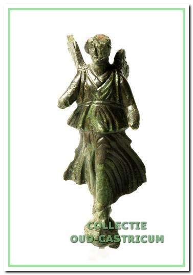 Beeldje van de Romeinse godin Victoria.