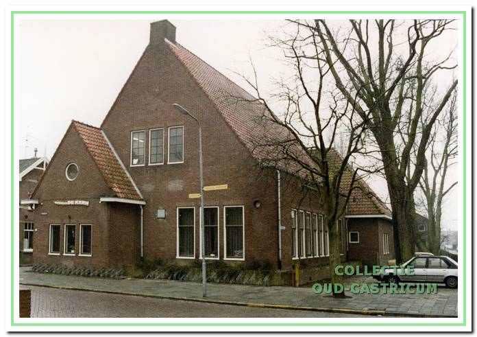 Gebouw 'De Kern' aan de Overtoom 15 in Castricum.