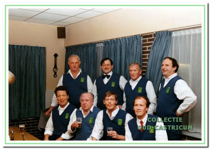 De eerste acht van 't Steegie in 1996.