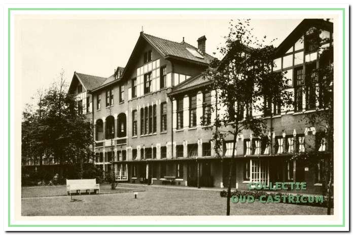 Paviljoen Mannen 1, later Hoge Steeg genoemd, in 1946.