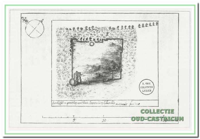 Kasteelplattegrond 1728