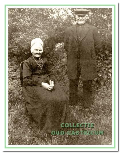 Engel Lute, geboren te Castricum op 7 november 1854, was tuinder, landbouwer, woonde eerst in de Kerkbuurt, daarna in een huis aan de Mient