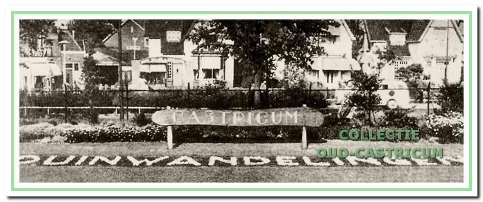 De duinwandelingen in Castricum, nog steeds in het 'Dagtochtenboekje' aanwezig. Dat boekje loop al meer dan 35 jaar mee. Voor de mooie tuin kregen we in een wedstrijd 'spoortuinen' eens de eerste prijs.