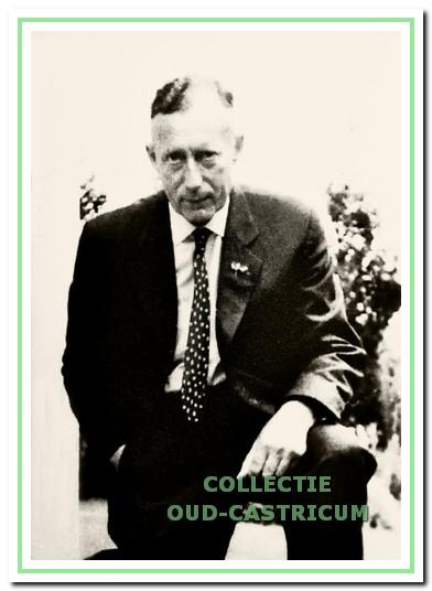 Henri van Nievelt, arts te Castricum in de periode 1939 - 1964.
