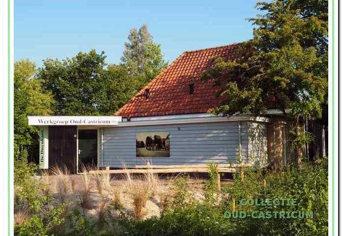 Het huisje van de familie Bont (nr 5) getekend door Sijf Portegies.