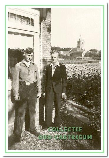 Thijs Bakker en broer Niek.