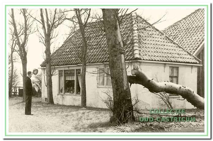 Het huis van de familie Liefting aan het Groenelaantje (zie 17).