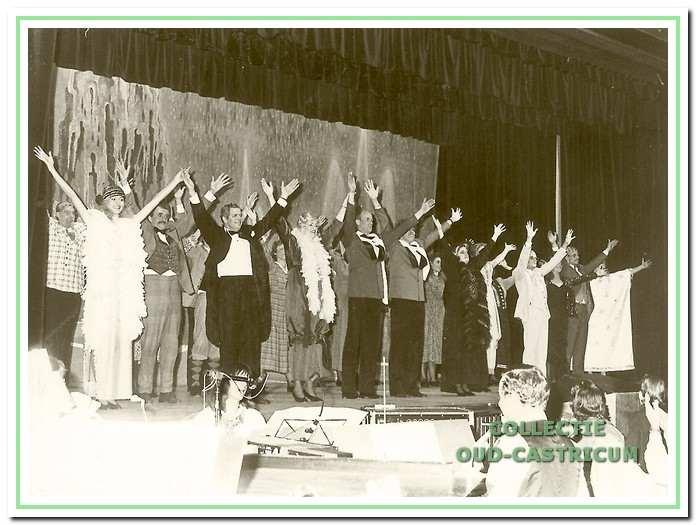 De musical 'De kleine Parade', ter gelegenheid van het 50-jarig jubileum in 1989, had een overweldigende bijval.
