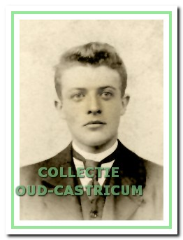 Aannemer-timmerman Gerrit Kabel op circ 25-jarige leeftijd.