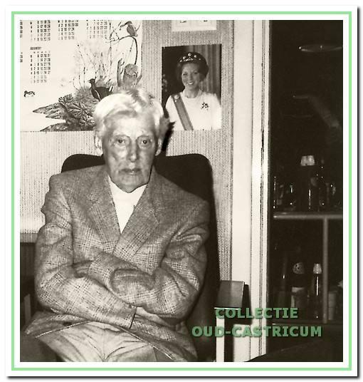 Jonker Frits in het verzorgingshuis Egberts Duin in Wijk aan Zee.
