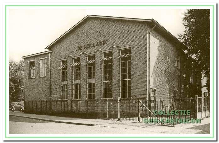 De melkfabriek na de modernisering van de voorgevel in 1950.