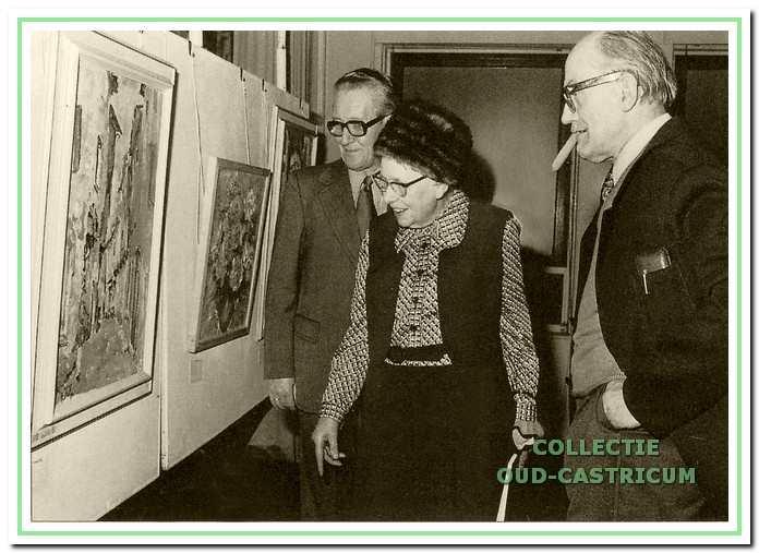 Heeck met Lida Tulp en burgemeester Van Boxtel.