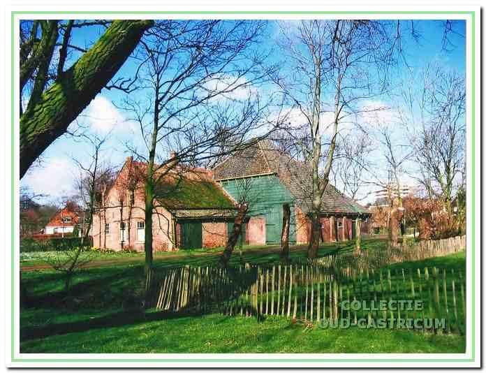 De oudste boerderij aan de Breedeweg (nr 80).