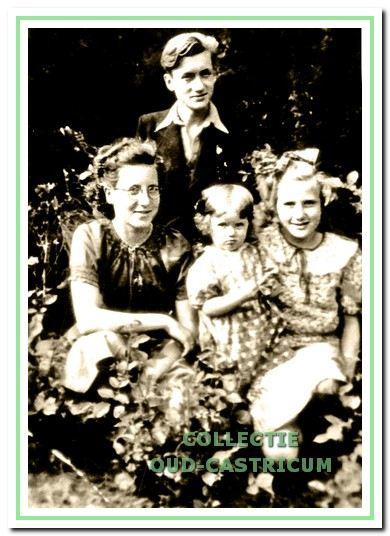 De kinderen van het echtpaar Van Deelen.