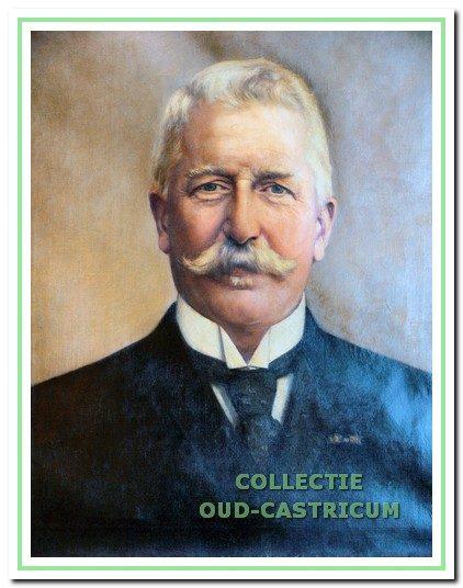 Carel Hendrik Moens, burgemeester van Castricum van 1869 tot 1877.