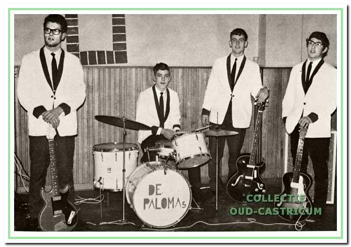 'The Frogs Ltd' kwamen voort uit 'De Paloma's.