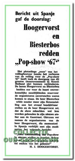 Hoogervorst en Biesterbos redden Pop-Show-'67.