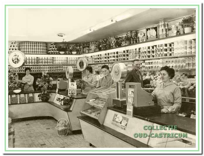 De winkel van Stengs in 1961.