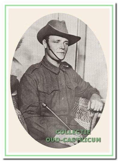 Anthoon Stuifbergen die in 1917 sneuvelde in dienst van het Australische leger.
