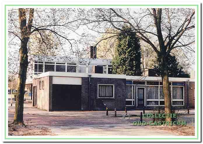 Het nieuwe politiebureau aan de Burgemeester Boreelstraat.
