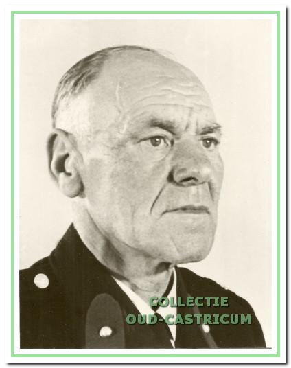 Gerrit Verbaan groepscommandant van 1951 tot 1960.