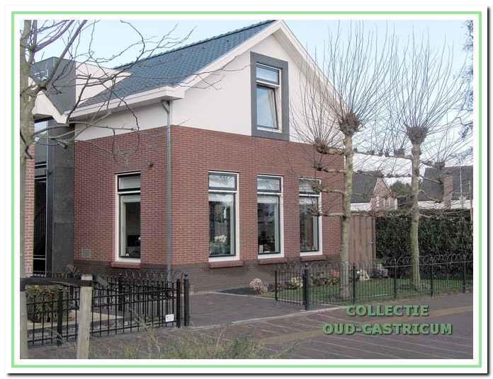Het in 2011 nieuw gebouwde pand Dorpsstraat 148.