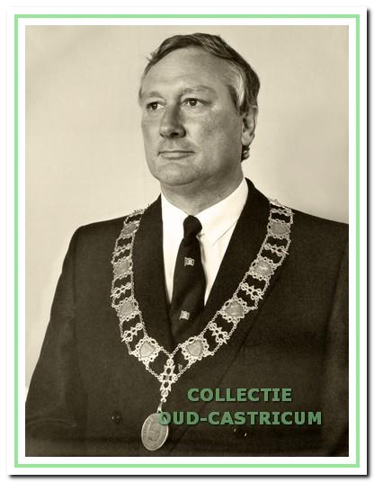 Gmelich Meijling, burgemeester van1978 tot 1985.