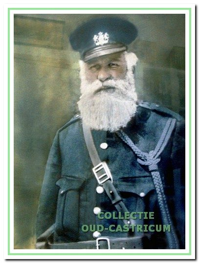 Pieter Koelewijn, rijksveldwachter van 1908 tot 1934.