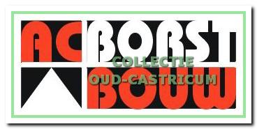 Naam en logo van het bedrijf wordt vanaf 1998 AC Borst Bouw