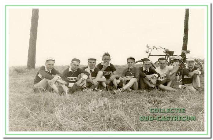 De Vitesse-ploeg in 1959.