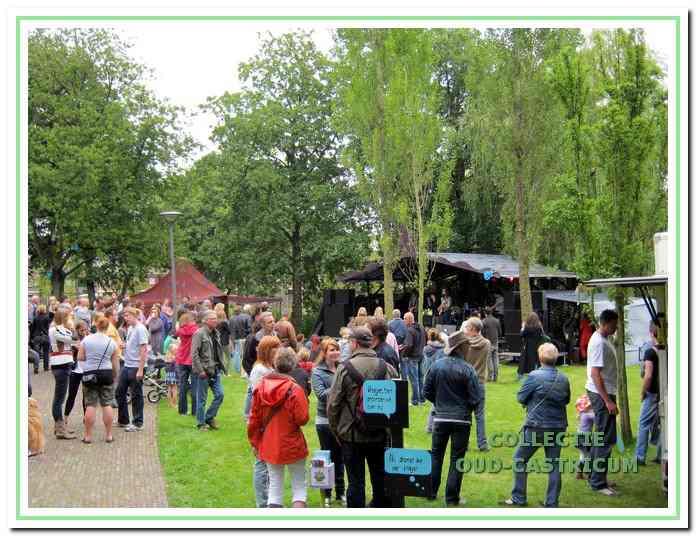 Het Uit je Bak Festival trekt altijd veel bezoekers.