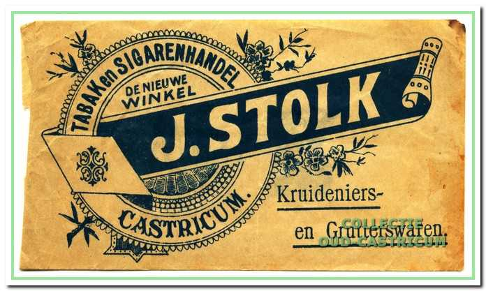 Verpakkingsmateriaal van De Nieuwe Winkel van Jan Stolk.