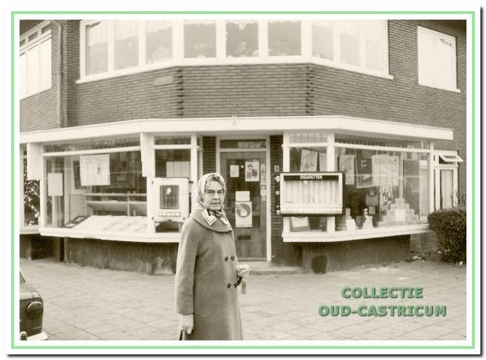 Jo Vissers - Keller voor de eerste winkel op de hoek van de Van Egmondstraat en de Brakenburgstraat.
