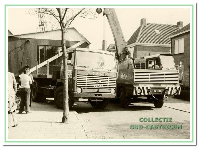 De directiekeet werd op 19 mei 1973 op zijn plaats gezet in de Henri Schuytstraat.