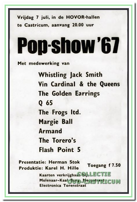 Pop-Show-'67 in de Hovor hallen.