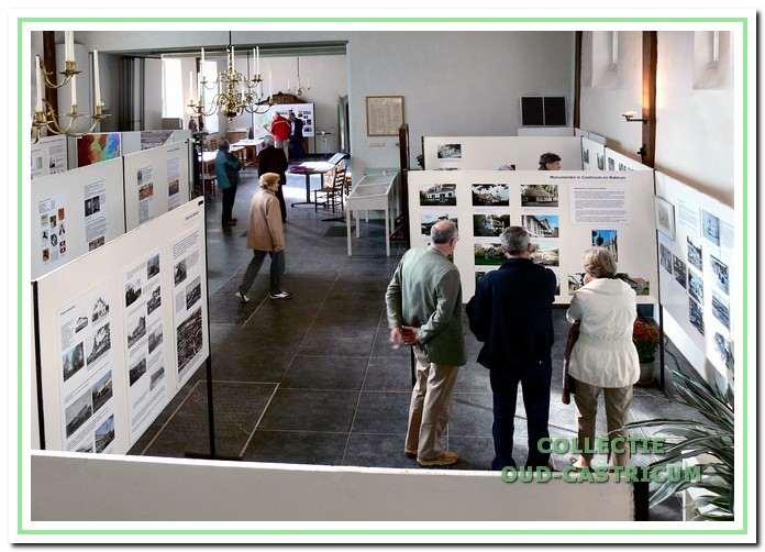 De jubileumtentoonstelling die in 2007 in de dorpskerk werd gehouden.