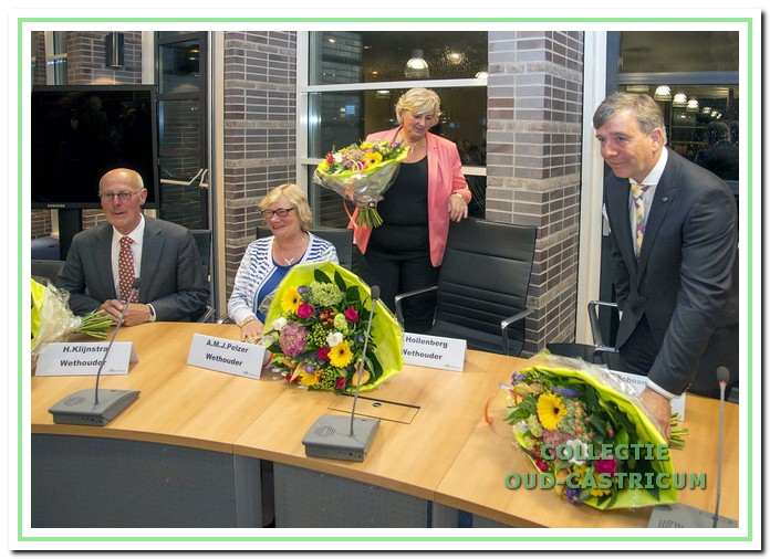 Vol goede moed gaat het college in 2014 van start. D'66 en de VVD trekken in 2016 hun wethouders Hilbrand Klijnstra en Esther Hollenberg terug na een motie van wantrouwen tegen Klijnstra. De wethouders Ans Pelzer en Leo van Schoonhoven moeten ook opstappen.