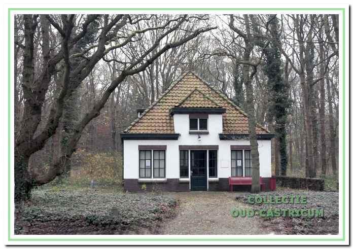 Het badhuis op het terrein van Dijk en Duin.