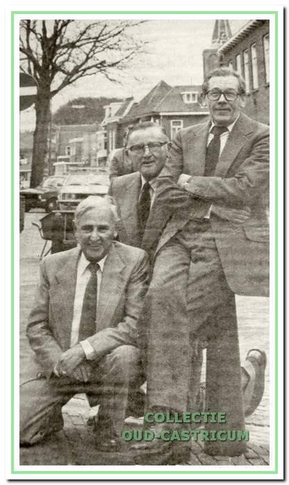 Jan Plas, Jan Stengs en Hein Groot.