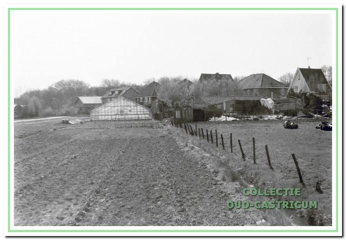 Tuinen aan de achterkant Beverwijkerstraatweg in Castricum.