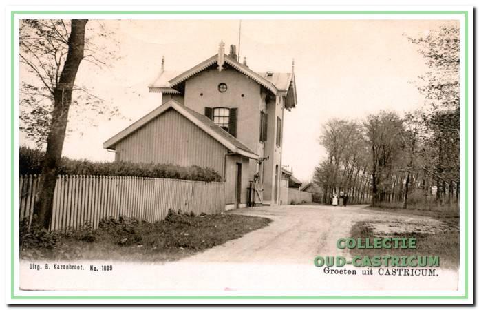 Het station in 1905.