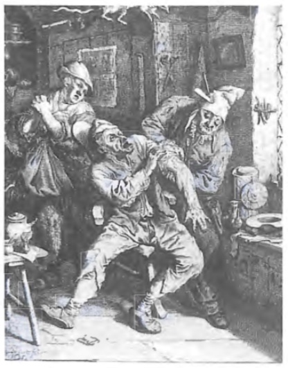 Operatie aan arm door dorpschimrgijn.