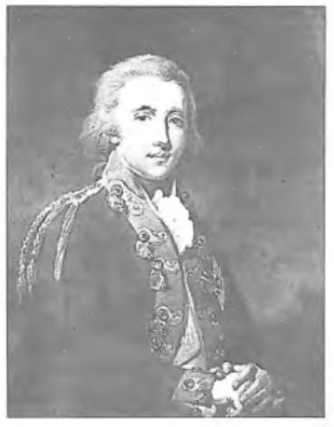 Willem George Frederik , Erfprins van Oranje, de latere koning Willem I. Hij was een zoon van Prins Willem V.