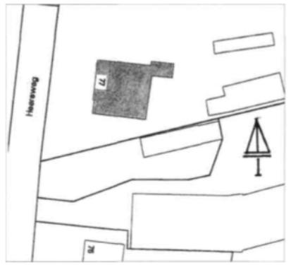 De ligging aan de Heereweg.