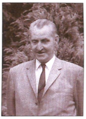 Piet Nagengast in 1968.