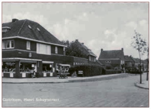 De winkel van Vaalburg in de jaren 1960.