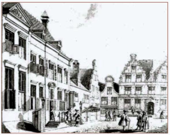 Het Oost-Indisch huis aan de Muntstraat in Hoorn.