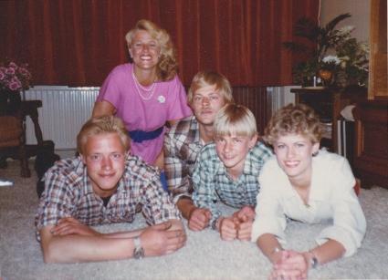 Bij het 25-jarig huwelijk in 1979.