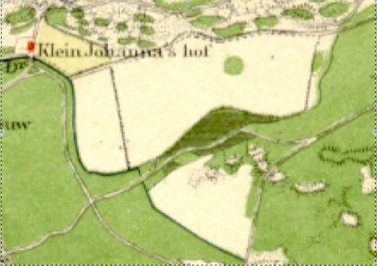 De akkers van Klein Johanna's Hof.